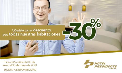 Banner Hotel Presidente 500x300px